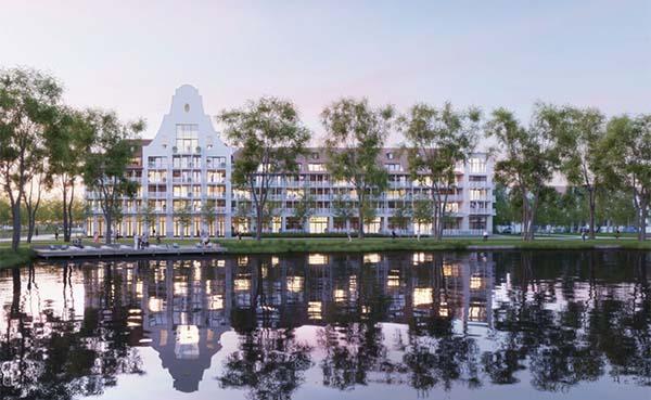 Stormloop op appartementen door nieuw golfterrein in Knokke