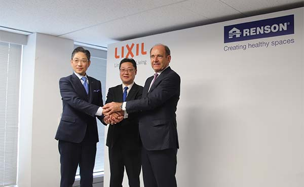 Renson en Lixil bundelen hun krachten voor 'Outdoor Living' in Japan