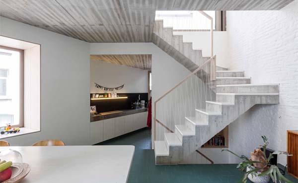 Renovatiedag: Hoekwoning met kantoorruimte in Antwerpen