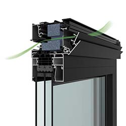 C+ ventilatiesysteem - Renson Invisivent Air & Comfort