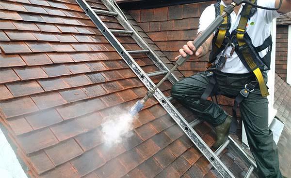 Barbecueën met zicht op een proper dak en gevel? Laat het professioneel reinigen