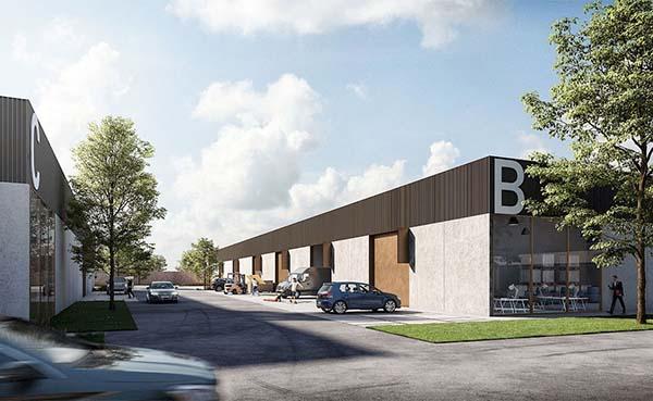 Nieuw business park 'BOXX' voor lokale ondernemers in Kortrijk