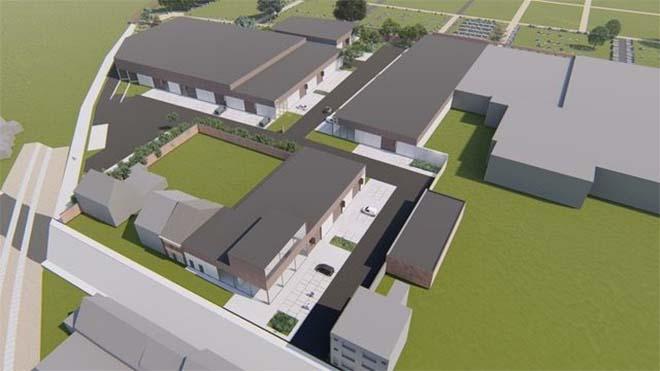 Nieuw business park BOXX voor lokale ondernemers in Kortrijk