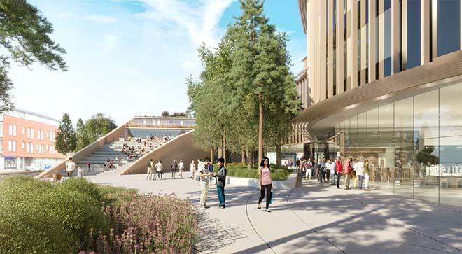 Wereldberoemde Noorse architecten hertekenen Roeselaarse stationsbuurt