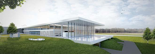 Renson start bouw gloednieuw Outdoor Experience Center langs E17