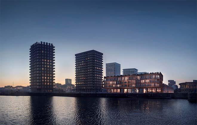 Antwerpen krijgt eerste 'zwevende' appartementen van Vlaanderen