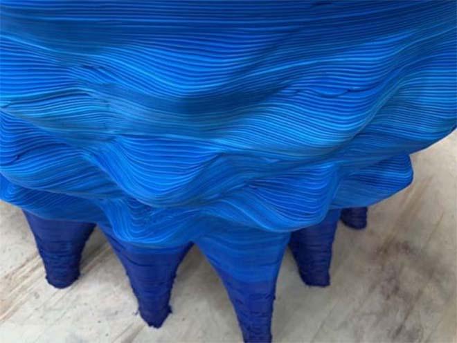 Eerste uit een stuk 3D geprinte soft-tub