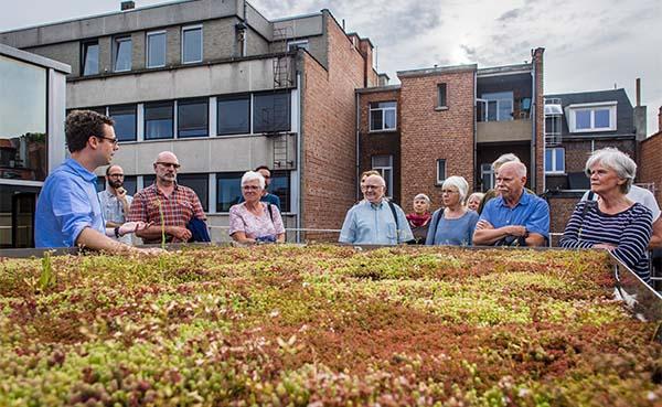 Kennisdag klimaatrobuuste daken op 14 juni 2019 in Antwerpen