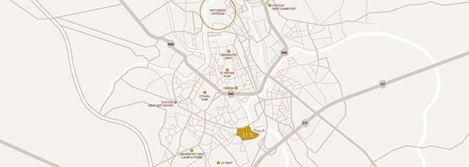 Nieuw Gents stadsdeel LUX/Forum