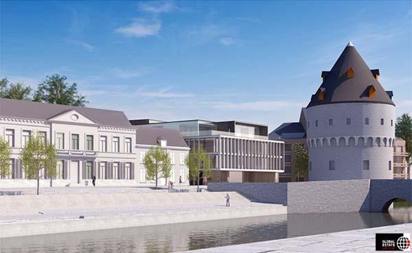 Bouw van luxeproject aan historische Broeltorens officieel gestart