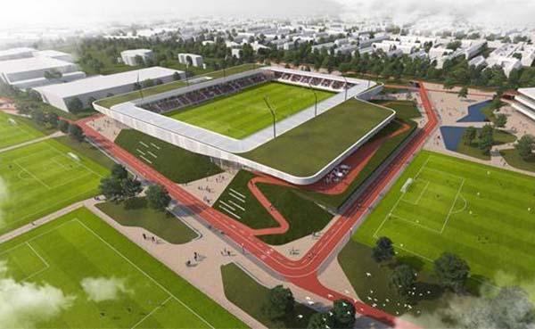 Architecten voor Sport- en (be)leefcampus in Helmond bekend