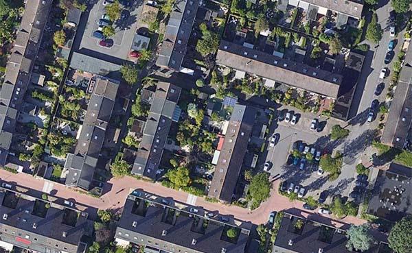 Nederlanders wonen op steeds krapper perceel