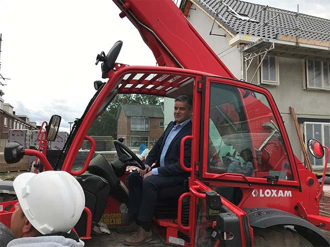 Wethouder Daandels van Waalwijk