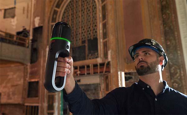 Deze mobiele laserscanner kan moeilijk toegankelijke ruimtes eenvoudig scannen