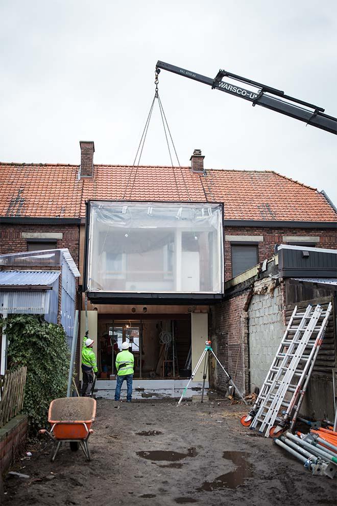 Prefab ook voor renovaties