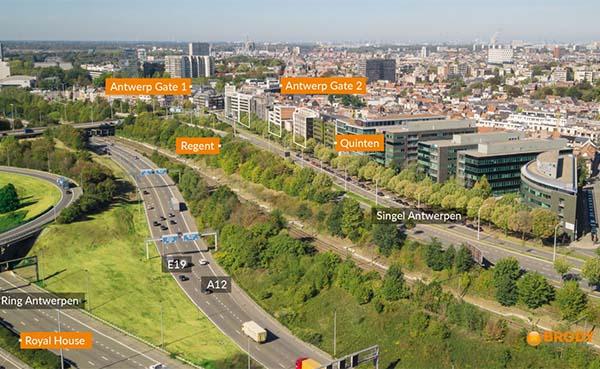 Brody koopt in één ruk 18.000 m² kantoren aan toplocatie 'Antwerp Gate'