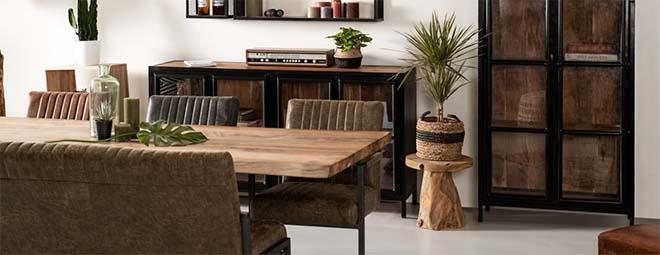 Een stoer interieur creëren, velvet of leer?