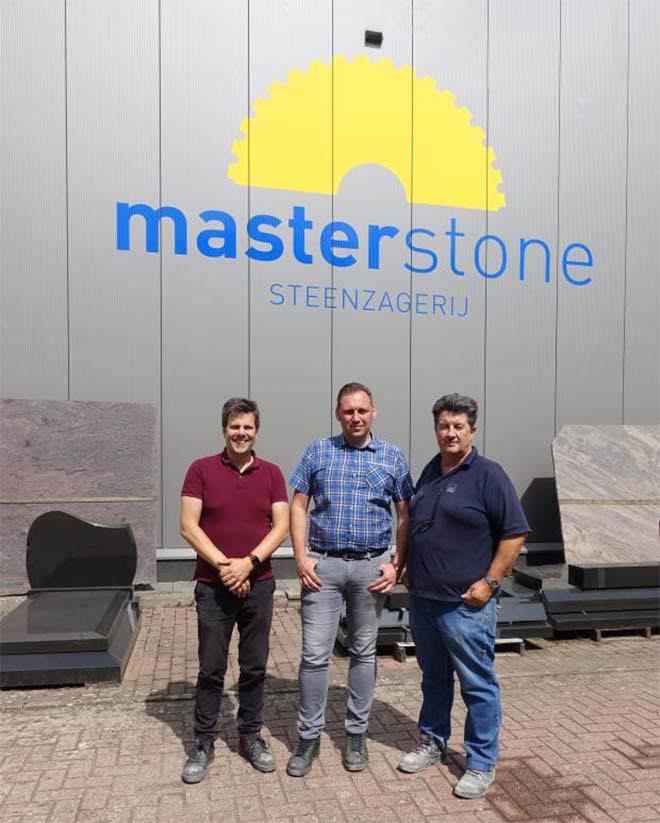 Steenzagerij Peters overgenomen en omgedoopt tot MasterStone