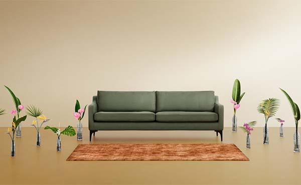 165 petflessen omgetoverd tot streelzachte sofa (video)