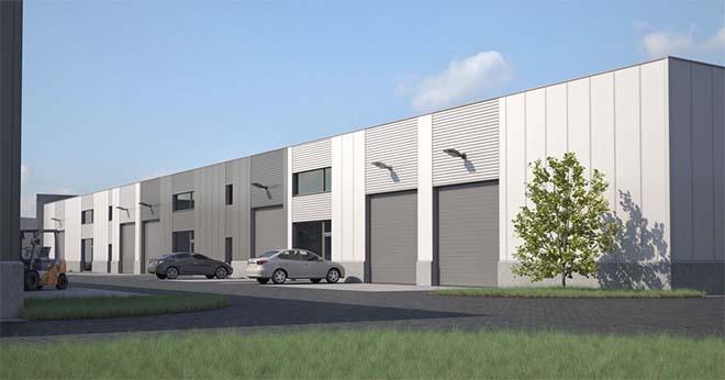 Eerste bedrijven vestigen zich vandaag in gloednieuw KMO-park in Wielsbeke