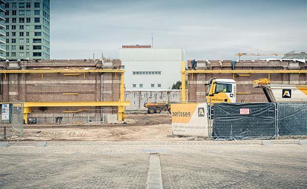 Grootste afgraving in jaren van start aan Antwerpse Eilandje