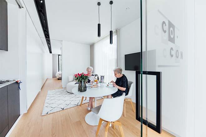 Woning van 48m² in 30 minuten gebouwd
