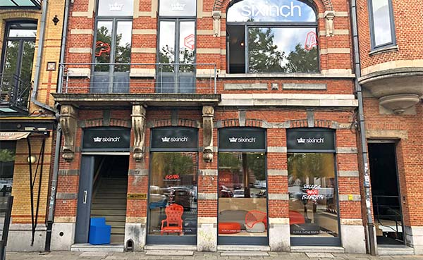 Designlabel Sixinch opent showroom in Antwerpen