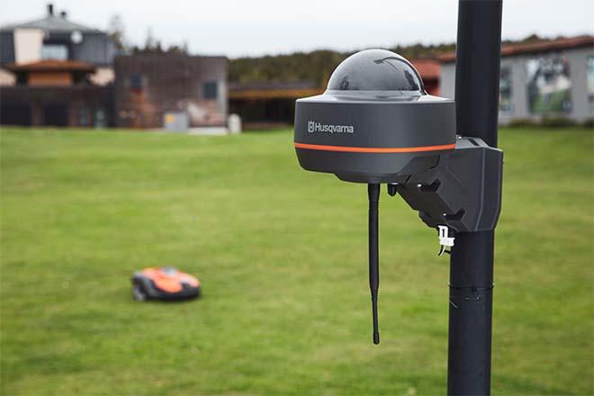 Nieuwe Husqvarna robotmaaiers die werken met virtuele grenstechnologie