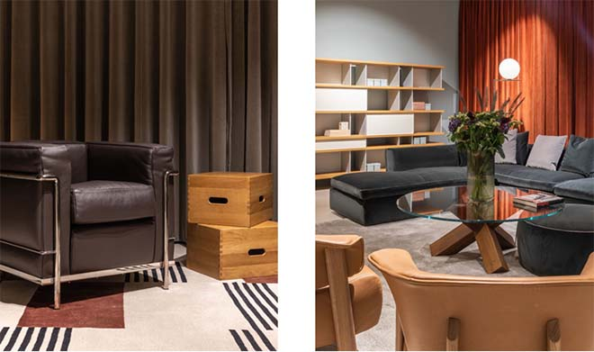 Donum opent Branded Spaces - Cassina