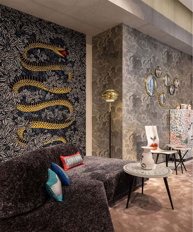 Donum opent Branded Spaces - Fornasetti