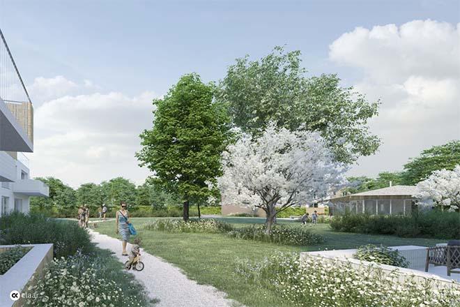 Nieuwe parktuin en plein maken komaf met gevaarlijk Lievegems kruispunt