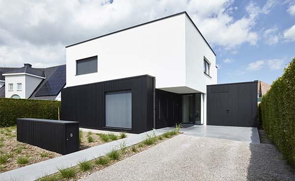 Strakke en duurzame wit/zwart look voor moderne woning