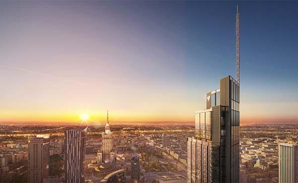 AkzoNobels-poedercoatings-op-het-hoogste-gebouw-van-Warschau