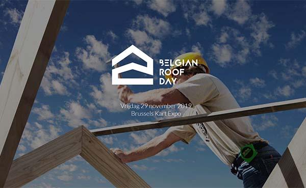 Daken van de toekomst op Belgian Roof Day op 29 november