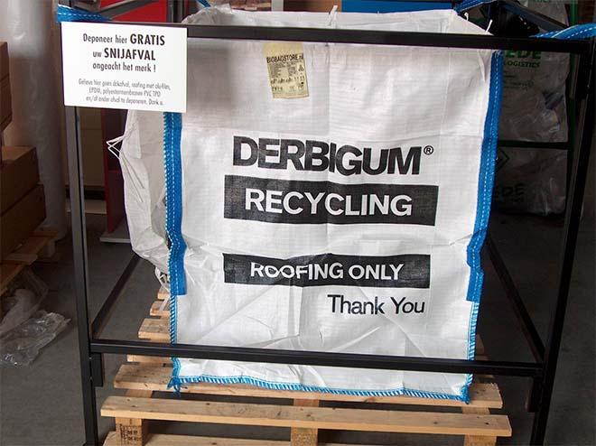 Derbigum lanceert No Roof To Waste programma