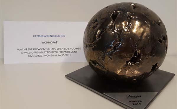 Woningpas beloond met eGOV-award voor gebruiksvriendelijkheid!