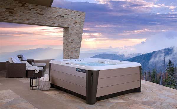 Een spa met natuurlijke chloor en minder waterverbruik