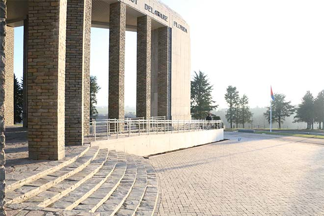 Mardasson Memorial in Bastenaken