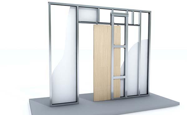 Knauf Pocket Kit maakt installatie inbouwschuifdeur gemakkelijker dan ooit