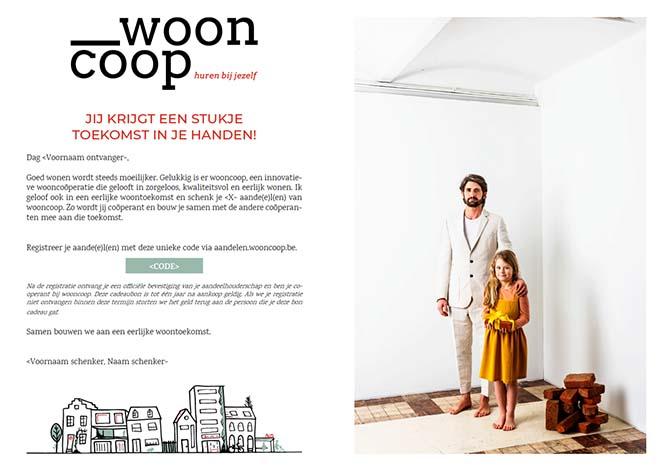 Wooncoop - Een cadeau dat geld opbrengt en impact heeft