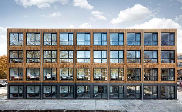 Jan Snel bouwt in recordtijd 300 toekomstbestendige studentenwoningen in Eindhoven