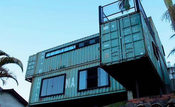 Wonen in een zeecontainer