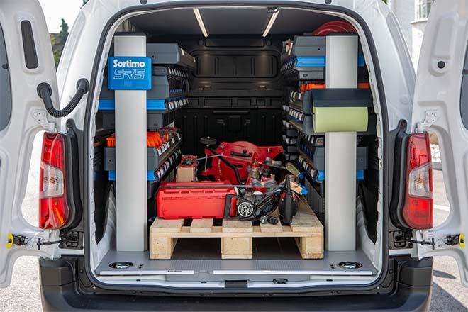 Sortimo - Voertuiginrichting - de optimale oplossing voor bedrijfswagens
