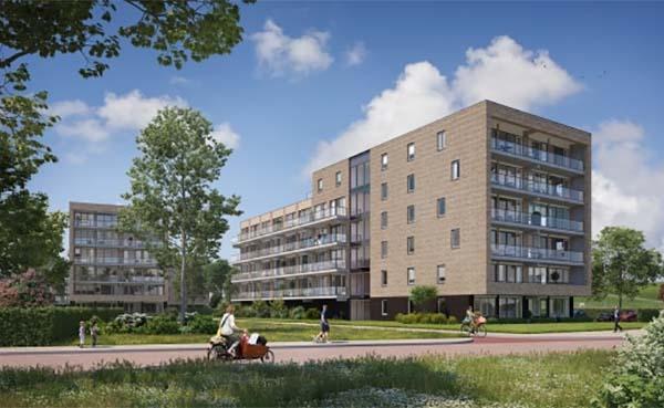 Feestelijke start bouw 82 appartementen Stationstuin in Barendrecht