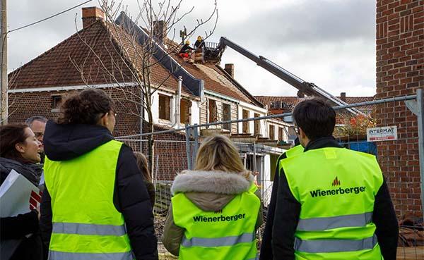Wienerberger toont circulaire toepassingen op site in Kortrijk