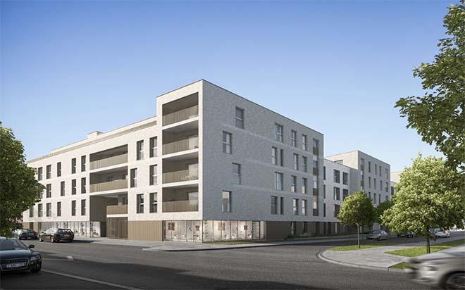 Voormalige steenkapperij maakt plaats voor 82 appartementen