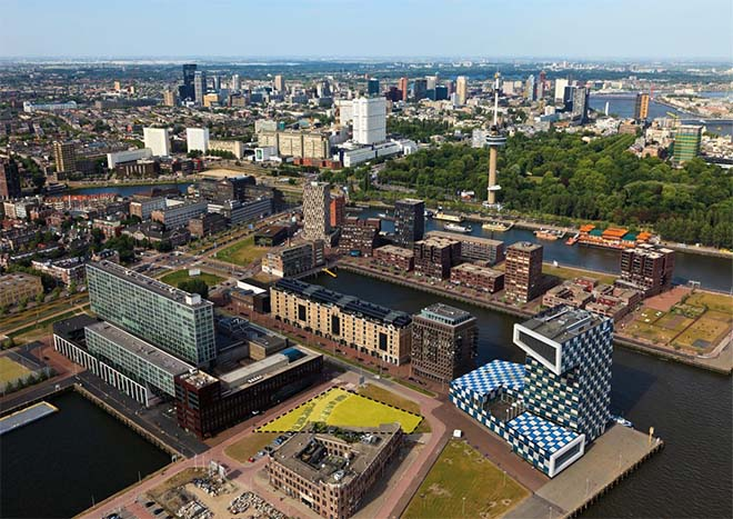 Sawa, Rotterdams eerste volledig houten woongebouw van 50 meter hoog