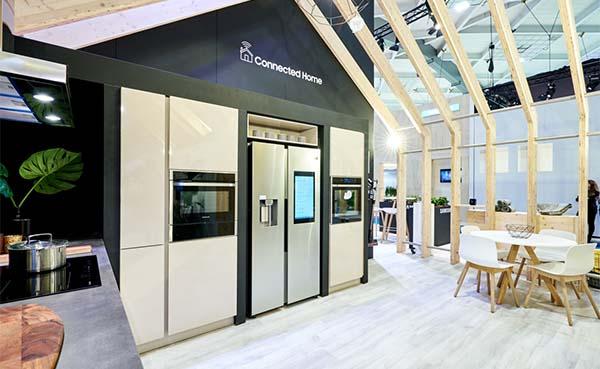 Op Batibouw 2020 toont Samsung de voordelen van een geconnecteerde levensstijl