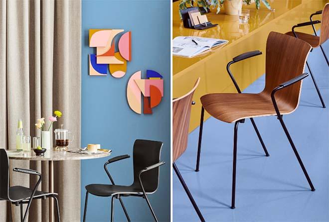 Fritz Hansen lanceert de vernieuwde Vico Duo stoel