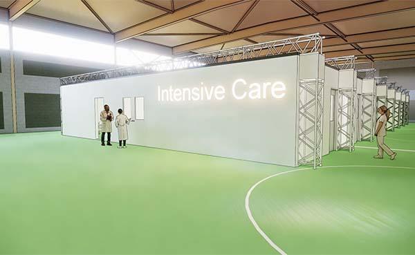 Nieuw concept voor tijdelijke intensive care units